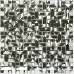 Мозаика M-603 метал (15х48х15x6) 305*300